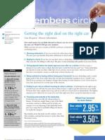 Members Circle, February 2011 Newsletter