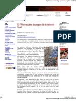 01-03-11 El PRI avanza en propuesta de Reforma Fiscal