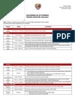 Calendario de Actividades PREH 2020-2021 1er sem
