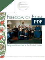 e journal - freedom of faith