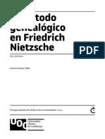 El Metodo Genealogico en f. Nietzsche 1