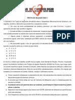 Gabarito Cardio 2021.1