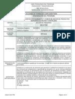 Informe Programa de Formación Frutas v1