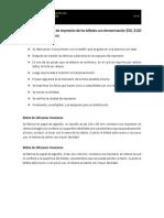 Fabricación y sistema de impresión de los billetes con denominación 50, 100 y 200
