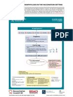 Management of Anaphylaxis in the Vaccination Setting Guidance Dec 2020