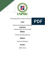 TAREA 5 MH20-0498 El Sistema de Información de mercado