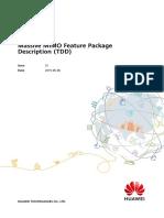 Massive MIMO Feature Package Description (TDD)(eRAN15.1_01)
