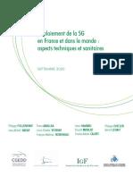 Deploiement 5G France Et Monde Aspects Techniques Et Sanitaires