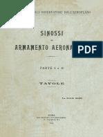 Sinossi Armamento Aeronautico 1924_tavole