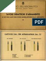 Tabelle Didattiche d'Armamento Regia Aeronautica 1939
