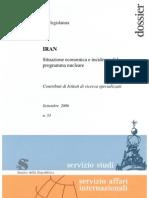 Iran-Dossier economia