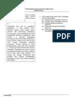 TPS Pemahaman Bacaan dan Menulis (FIX)