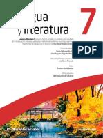 Indice Lengua y Literatura 7
