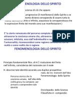 FENOMENOLOGIA DELLO SPIRITO 1