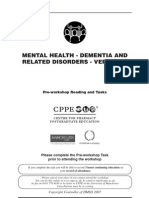 Dementia and related disorders