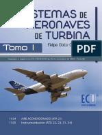 Sistemas de aeronaves de turbina. Tomo I