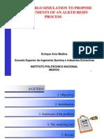 MonteCarloSimulation of resin process