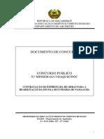 Doc. Conc.  Reabilitação ESG. Namaacha  (V.Final) Revisto pdf