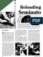 Reloading for the Semi- Auto - C.E. Harris 1986