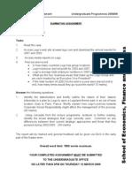 Intro to Management Summative 2008-9