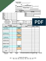 Toren Character Sheet