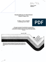dynamic behavior of a shear-formed shaped-charge linear
