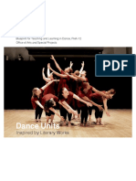 Blueprint for Teaching and Learning in Dance, PreK-12