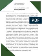 SISTEMATIZACIÓN ENCUENTRO DE SUPERVISORES JOSÉ MARÍA VARGAS