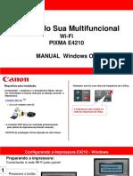 manual de instalação wifi  -  e4210 - windows