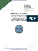 167- 1A, MIL-STD, Mechanical vibrations of shipboard equipment