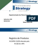 STR 2012 Treinamento Aplicativos ANS - mar 2012