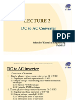LECTURE 2 DC TO AC INVERTER