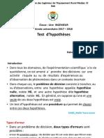 Estimation Et Test