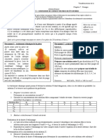 activité exp 2 composition piece dosage etalonnage