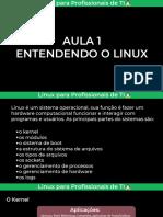 Entendendo Linux - Aula 1