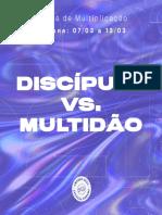 Discípulo vs Multidão (7mar)