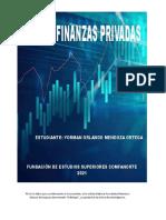TALLER 2 DE FINANZAS PRIVADAS