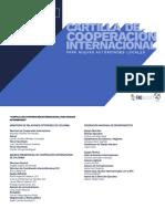 Cartilla de Cooperación Internacional