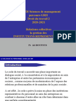Relations collectives  IRP