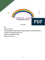 CURCUBEUL CUNOASTERII CLS.A II-A 2020-2021