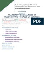 Traitement Des Salaires TS PDF