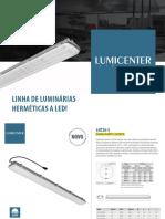 Lumicenter Luminárias Herméticas a LED