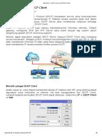 Mikrotik.ID _ DHCP Server dan DHCP Client