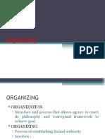 Organizing - Nursing Management