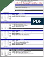 Cronograma Pós Graduação Lato Sensu - Distânica - Meodologia Do Ensino de Mat e Fis 2012