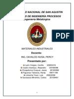 Ejercicios de Aplicacion Materiales Industriales
