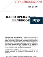 1991 US Army  Radio Operators Handbook 374p