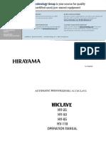Hirayama_HV_Series_Manual