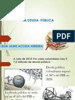 DEUDA PÚBLICA 2020-1