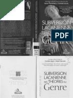 Subversion Lacanienne du Genre
